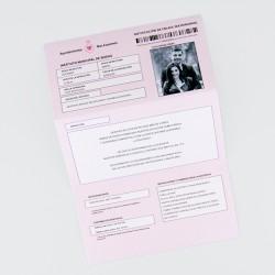 Invitacion de boda multa ayuntamiento
