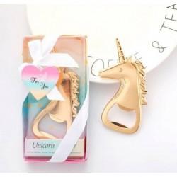 Abrebotellas unicornio en caja de regalo