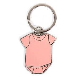 Llavero body rosa en caja de regalo
