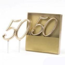 Decoracion pastel 50 Aniversario