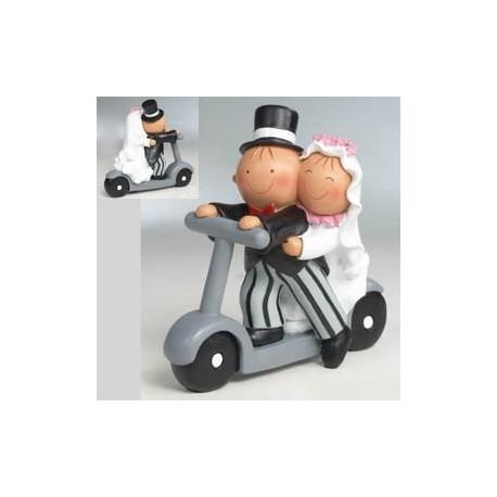 Figuras de tarta Pita patinete