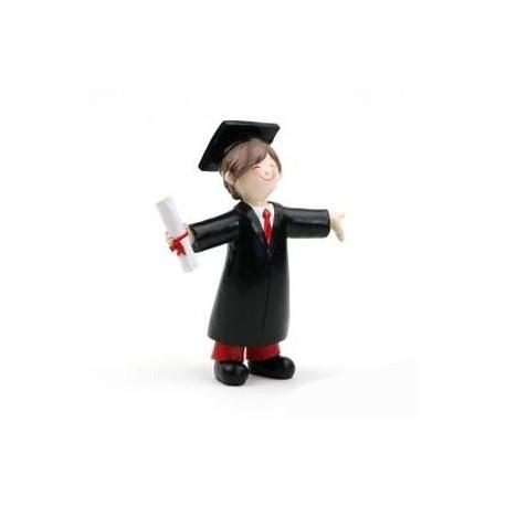 Figura tarta graduacion chico