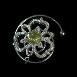 Espiral trebol verde