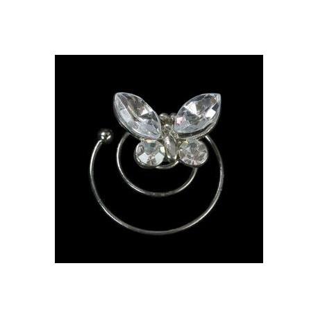 Espiral mariposa cristal