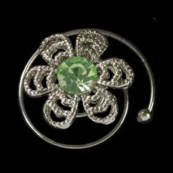 Espiral margarita verde