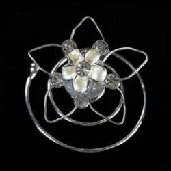 Espiral flor estrella.