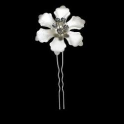 Horquilla flor nacar