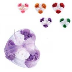 Petalos de rosa Jabon 6 en estuche