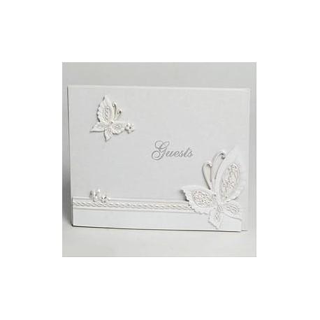 Libro de firmas boda Mariposas