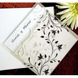 Invitación de boda adonis