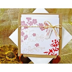Invitación de boda azalea