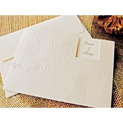 Invitación de boda almendro