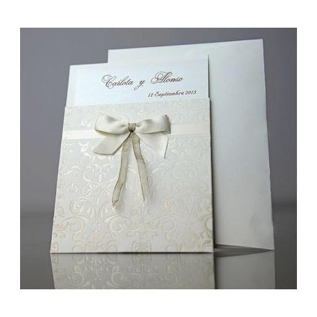Invitacion de boda Ajenjo
