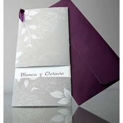 Invitacion de boda Albahaca Sacre