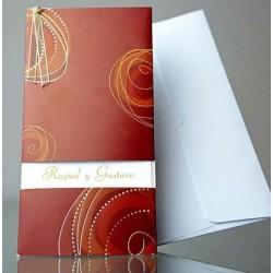 Invitacion de boda Albahaca Thai