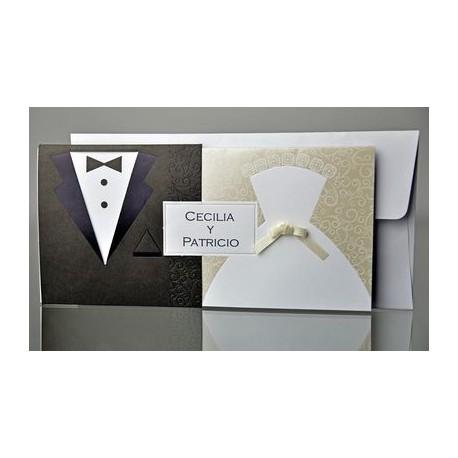 Invitacion de boda Cebollino