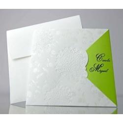 Invitacion de boda Cilantro