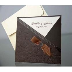 Invitacion de boda Ángel del Monte