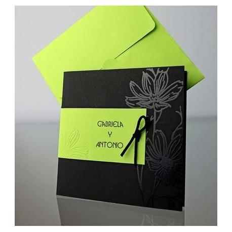 Invitacion de boda Ginura