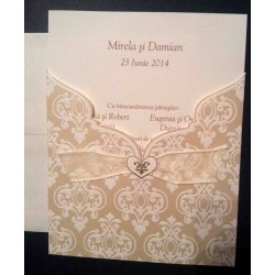 Invitacion de boda Melissa