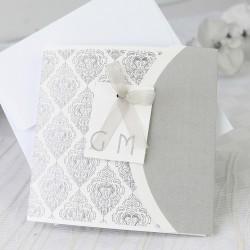 Invitacion de boda nombres elegante