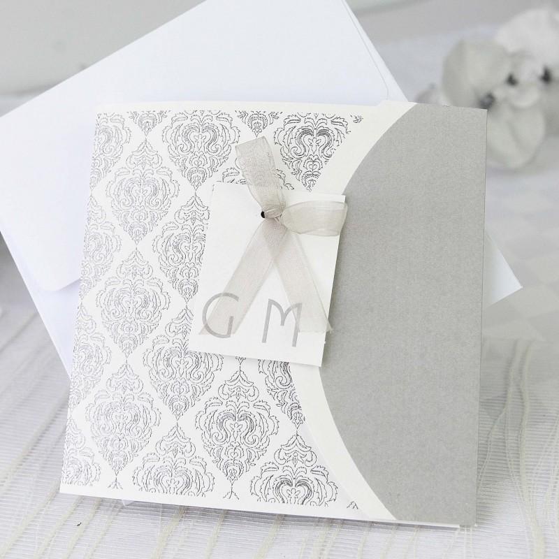 Invitacion de boda nombres elegante detalles de boda - Detalles de boda elegantes ...