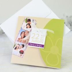 Invitacion de boda imagenes pastel