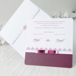 Invitacion de boda tarjeta elegante