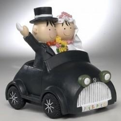 Figura de tarta coche