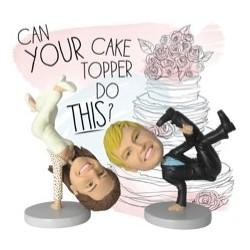 Figura de tarta 100% personalizable