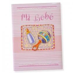 Libro bebé Rosa Biberón