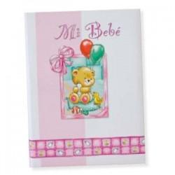 Libro bebé Rosa Osito