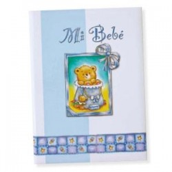 Libro bebé Azul Osito
