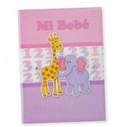 Libro bebé Rosa Girafa