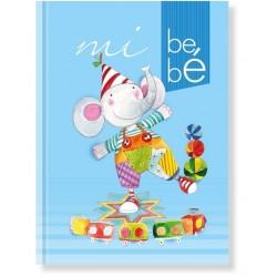 Libro bebé Azul Elefante