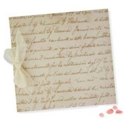 Libro firmas lazo Escritura