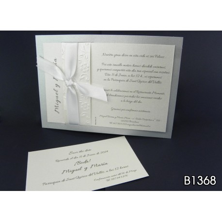 Invitación de boda guaraná