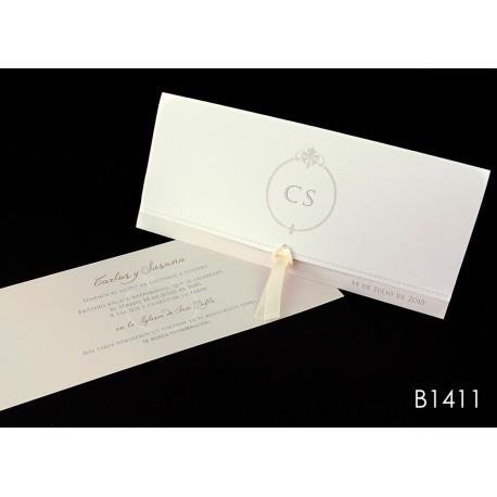 Invitación de boda imbe