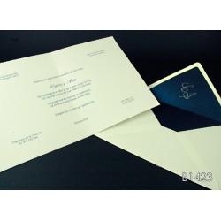 Invitación de boda jambolán
