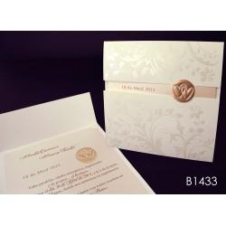 Invitación de boda litchi