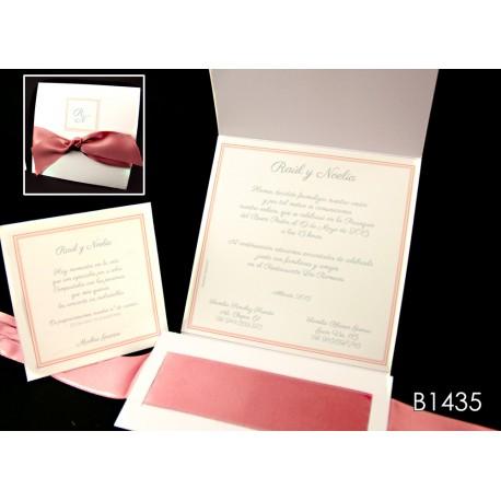 Invitación de boda lúcuma