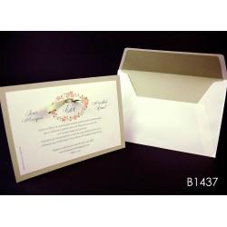 Invitación de boda lulo