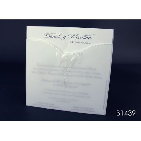 Invitación de boda madroño