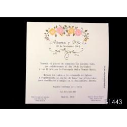 Invitación de boda mamoncillo