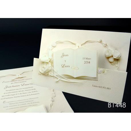 Invitación de boda maracuyá