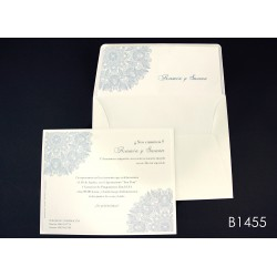 Invitación de boda membrillo de bengala