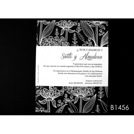 Invitación de boda mombin