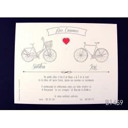 Invitación de boda morinda
