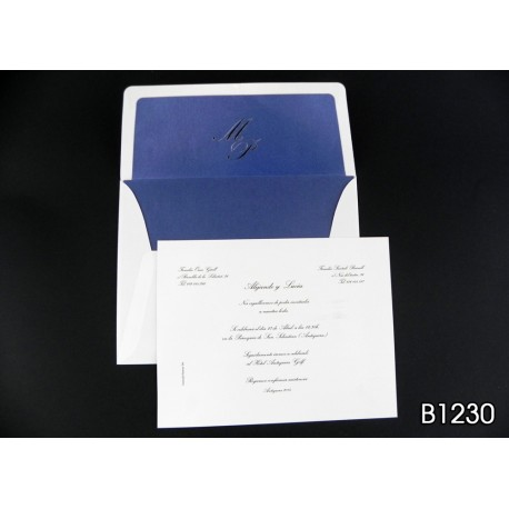 Invitación de boda panapén