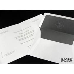 Invitación de boda passiflora